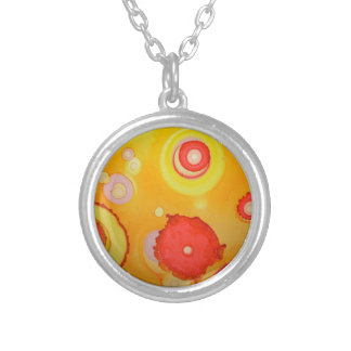 magma silver plated necklace