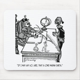 Magna Carta Cartoon 2639 Mouse Pad