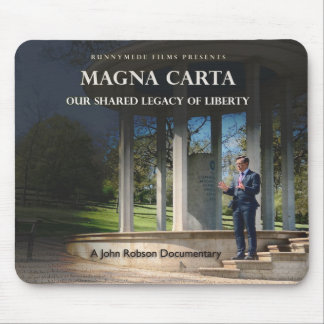 Magna Carta documentary mousepad
