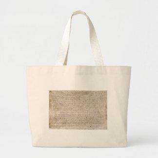 Magna Carta Large Tote Bag