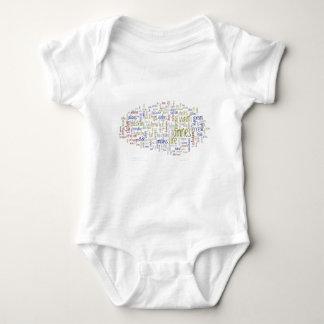 Magna Carta (Latin) Baby Bodysuit