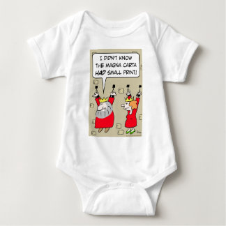 magna carta small print king chains baby bodysuit