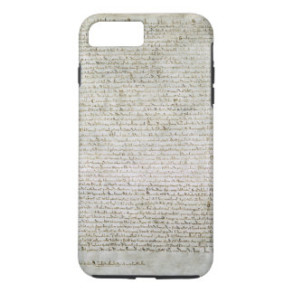 Magna Carta the Charter of Liberties 1215 iPhone 8 Plus/7 Plus Case