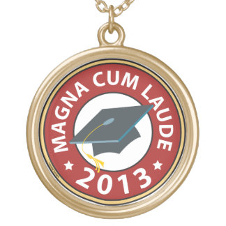 Magna Cum Laude Gold Plated Necklace