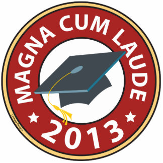 Magna Cum Laude Acrylic Cut Out