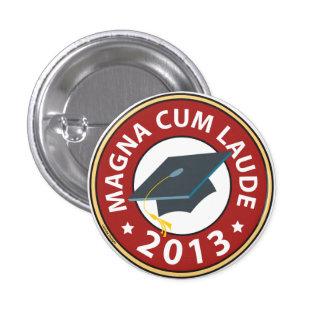 Magna cum Laude Pin Redondo 2,5 Cm