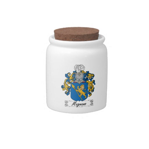 Magnano Family Crest Candy Dish