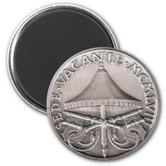 Magnes de Sede Vacante MCMLVIII 2 Inch Round Magnet