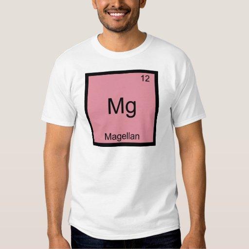 Magnesio - Camiseta divertida del símbolo del Playeras