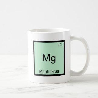 Magnesio - Camiseta divertida del símbolo del Taza De Café