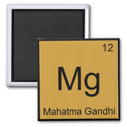 Magnesio - Símbolo divertido del elemento de la qu Imán Para Frigorifico