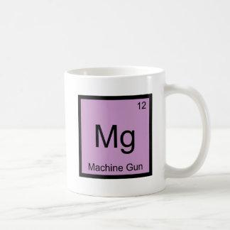 Magnesio - Símbolo divertido T del elemento de la Taza De Café