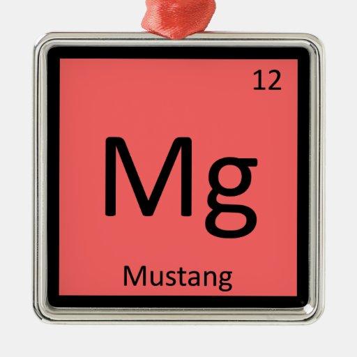 Magnesio - Tabla periódica de la química del cabal Adorno De Reyes