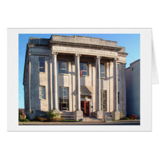 Magness Library-McMinnville Tennessee Card