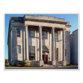 Magness Library-McMinnville Tennessee Poster