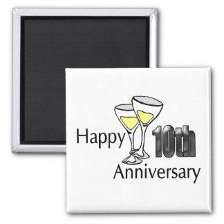 Magnet - 10th Wedding Anniversary