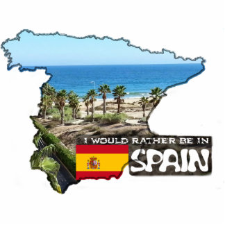 [Magnet 2] I'd rather be in Spain Photo Sculpture Magnet