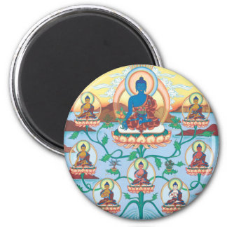MAGNET 8 Medicine Buddhas