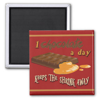 Magnet - a chocolate per day