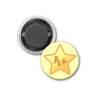 Magnet: A+ Star Motivational Magnet