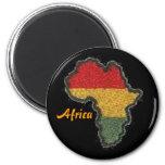 Magnet, Africa 2 Inch Round Magnet