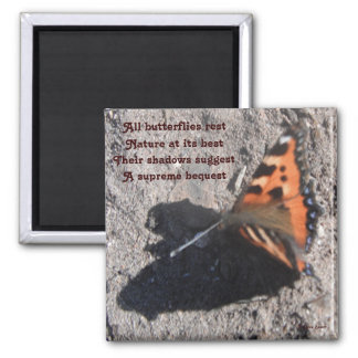 Magnet All Butterflies Rest Poem By Ladee Basset