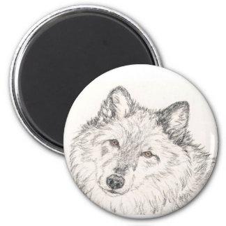 Magnet Alpha Female Wolf