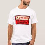 Magnet always on Tshirt