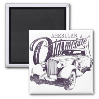 """Magnet """"American Olds Mobile """""""