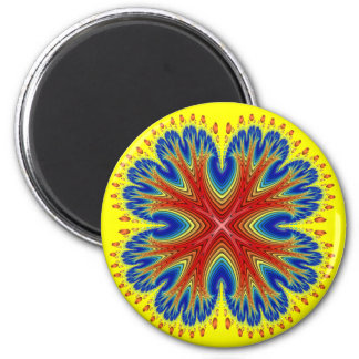 Magnet: Antarian Moon Blossom 2 Inch Round Magnet