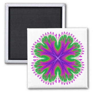 Magnet: Antarian Moon Blossom 2 Inch Square Magnet