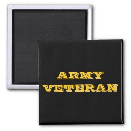 Magnet Army Veteran Fridge Magnet