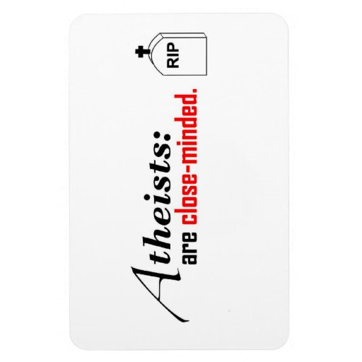 magnet atheist science christian