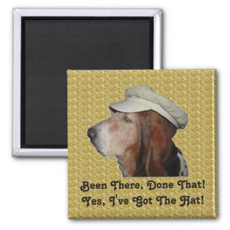 Magnet Basset Hound Been There, Done That