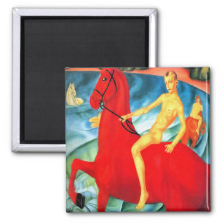 """Magnet: """"Bathing the Red Horse"""""""