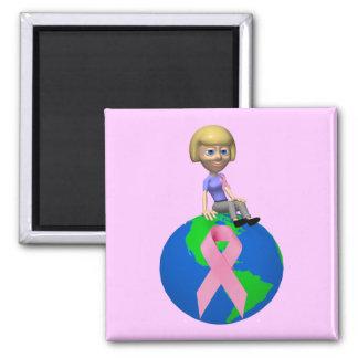 Magnet - Battle Breast Cancer Together