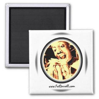 Magnet-Big Bite Logo 2 Inch Square Magnet