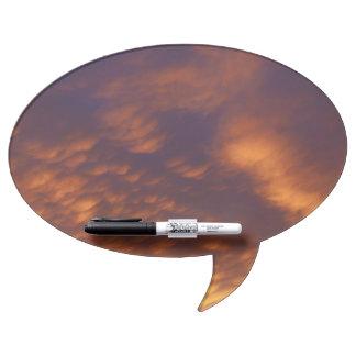 "Magnet board comic speech bubble ""clouds"" bygigis"