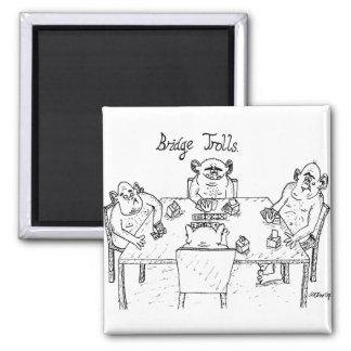 Magnet - bridge trolls