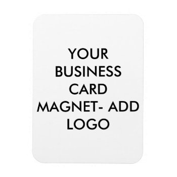 Magnet Business Card Logo by CREATIVEforBUSINESS at Zazzle