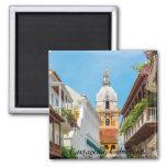 Magnet, Cartagena de Indias, Colombia 2 Inch Square Magnet