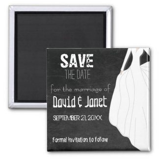 Magnet- Chalkboard Save The Date Magnets