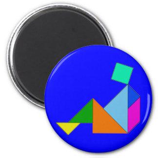 Magnet - Chinese Tangram