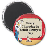 Magnet de tío Henry Iman