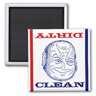 Magnet Dishwasher Butler Clean Dirty optical fun