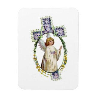 Magnet: Easter Morn Rectangular Photo Magnet