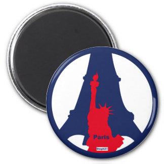 Magnet Eiffel Tower /Statut of freedom ©steph2