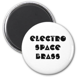 Magnet-electro space brass magnet