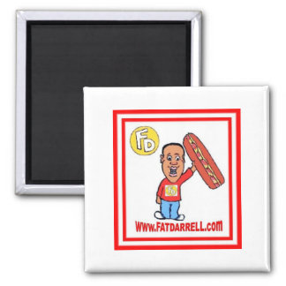 Magnet-FD1 logo 2 Inch Square Magnet