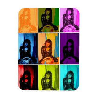 magnet fexi goth girl black retro